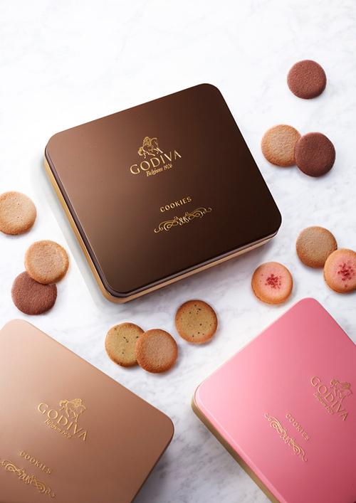 ゴディバ「クッキー アソートメント」にミルクチョコレートのクッキー登場
