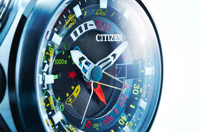 シチズン プロマスターより、空から見た地球のような時計「エコ・ドライブ アルティクロン・シーラス」