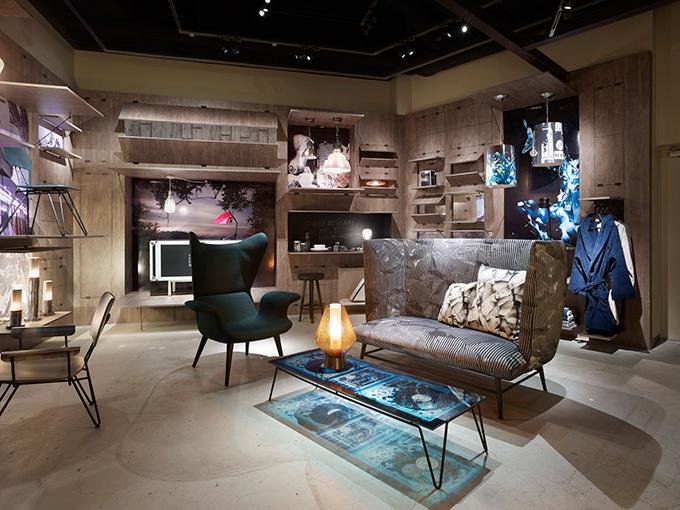 ディーゼル、渋谷でインテリアのインスタレーション - 建築家・岡田公彦による空間演出