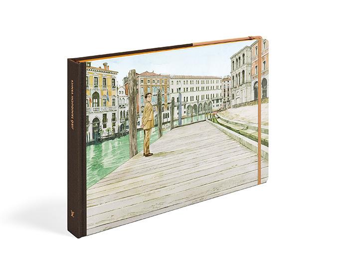 ルイ・ヴィトンの「トラベルブック」 - 谷口ジローの描くヴェネツィアなど最新版発売