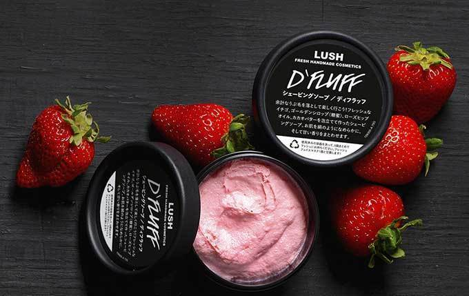 <ラッシュ>苺の香り&フワフワ感触のシェービングクリーム