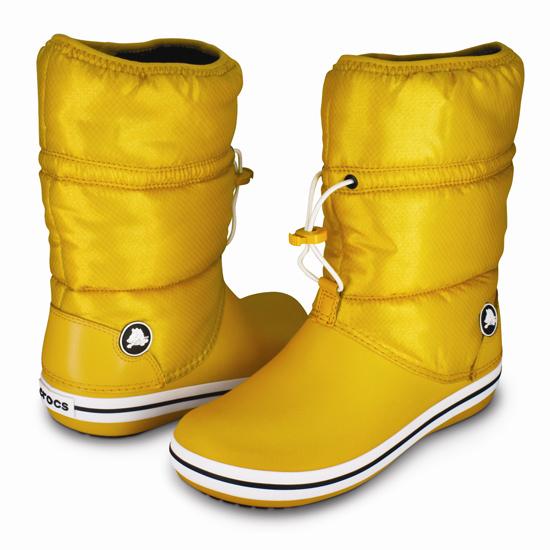 crocband winter boot w(クロックバンド ウィンター ブーツ ウィメンズ) cannary/cannary ¥6,980(税込)