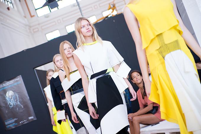 【特集】欧州最大のファッションコンテスト「ITS 2014」 -若きデザイナーたちの挑戦- モデル