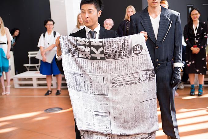 【特集】欧州最大のファッションコンテスト「ITS 2014」 -若きデザイナーたちの挑戦- 東京造形大学出身の木村康人