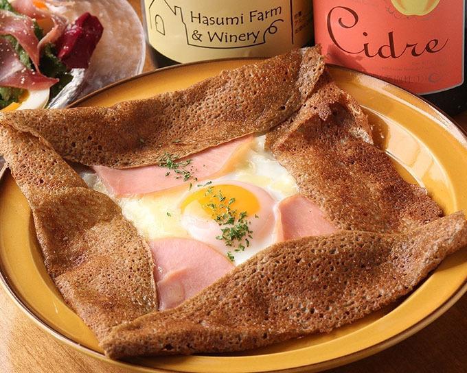 信州産そば粉の本格ガレットをワンコインで!「ガレットスタンド」東京・恵比寿にオープン