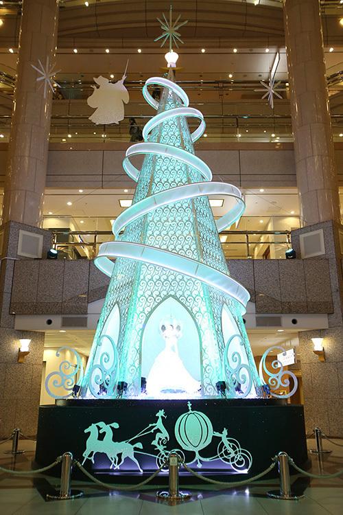 ディズニーがテーマのクリスマス - 東京丸の内、横浜ランドマークタワー、マークイズみなとみらい