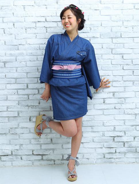 Leeが「塚田農場」の制服「デニムミニ浴衣」をデザイン、一般
