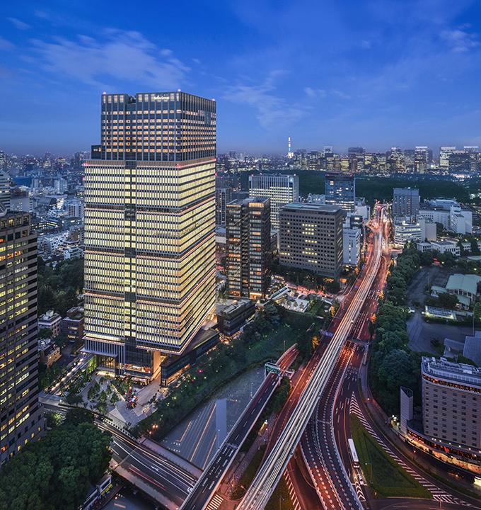 複合市街地「東京ガーデンテラス...