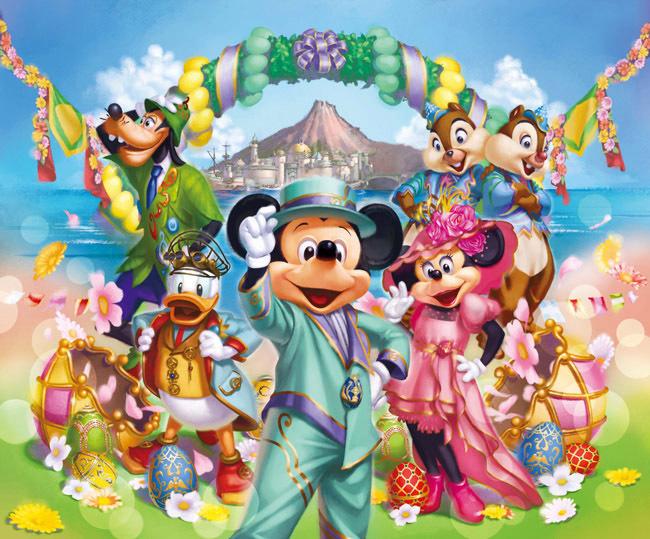 Ɲ�京ディズニーリゾートで春のスペシャルイベント「ディズニー・イースター」開催 Ã�ァッションプレス