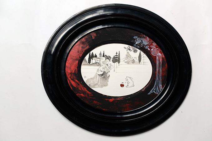 エルメスの広告を手がける河原シンスケの個展、東京・代官山で開催 - 社会問題をアートに