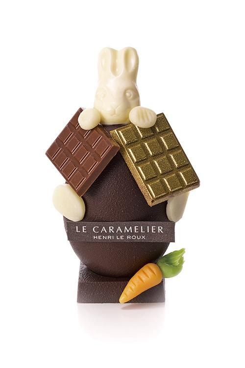 """アンリ・ルルーからイースター限定の""""うさぎ""""チョコレート登場!卵の中にもショコラがの写真2"""