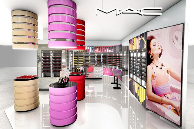 M·A·Cがラフォーレ原宿に新店舗をオープン , メイクアップレッスンや体験コーナーの設置も