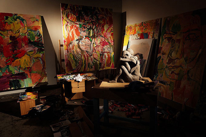 山本耀司の展覧会「画と機」東京オペラシティで開催 - 画家・朝倉優佳とコラボ の写真1