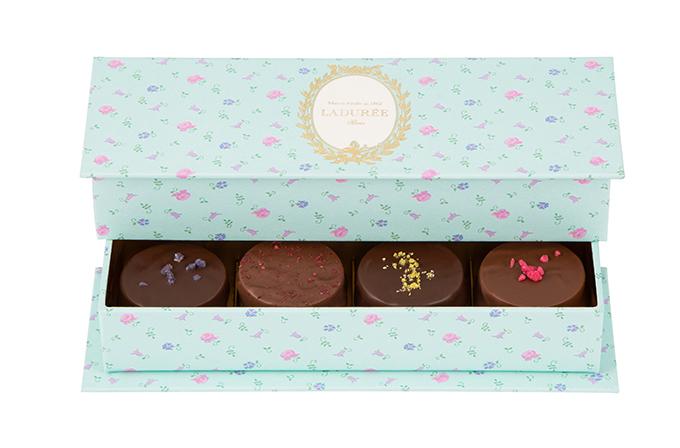 ラデュレのバレンタイン限定チョコレート - 紅茶風味ボンボンショコラやマカロンなどの写真4