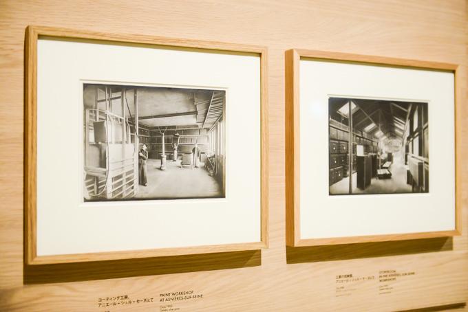 展覧会「旅するルイ・ヴィトン」の展示物、記録写真