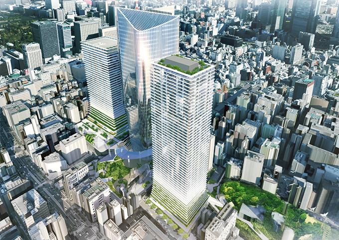 虎ノ門ヒルズ隣接地に新ビル&駅 - ビジネス、レジデンス、商業施設が登場