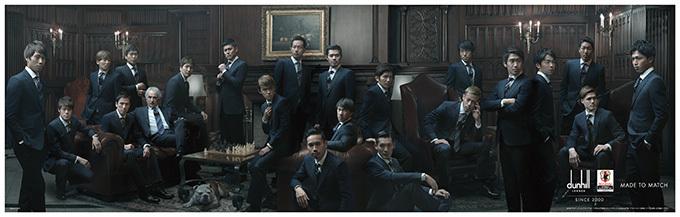 サッカー日本代表2016年オフィシャルスーツ