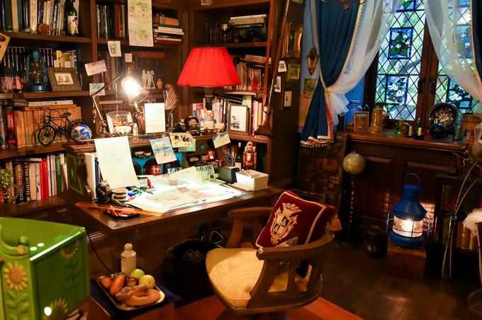「三鷹の森ジブリ美術館」ガイド- 常設展示室「映画の生まれる場所」