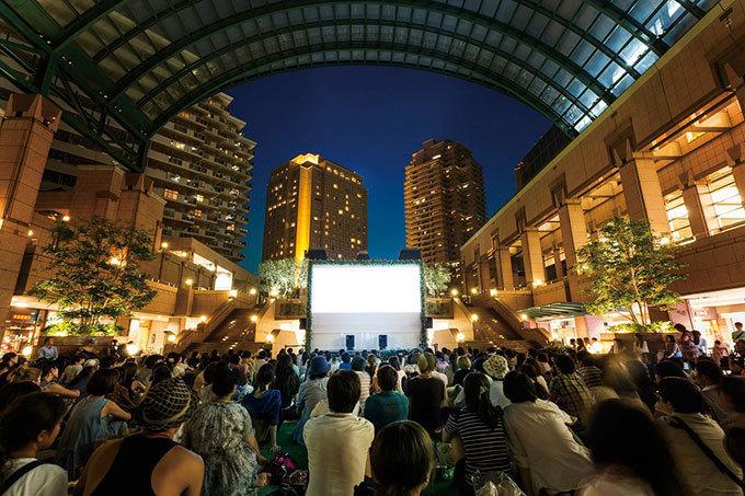 12作品を無料上映「恵比寿ガーデンピクニック」