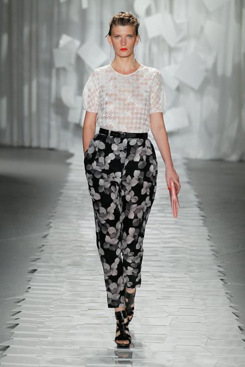 カラーと素材で魅せる、軽やかなポップ・エレガンス - ジェイソン ウー(Jason Wu) 2012年春夏コレクション