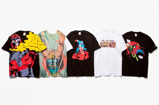アメコミの雄「MARVEL」キャラクターとクリエーターのコラボが実現 - ボックス入り限定Tシャツ発売