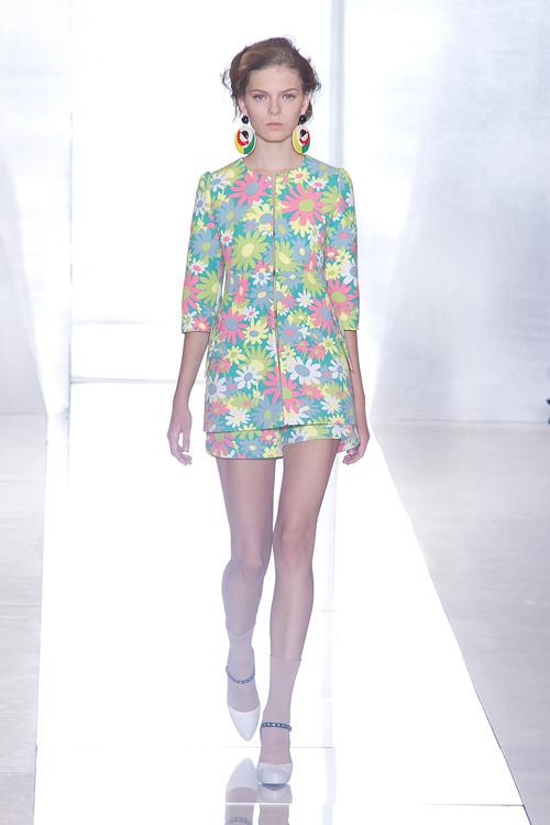 ノスタルジックな雰囲気に包まれたエレガントなスタイル , マルニ(MARNI) 2012