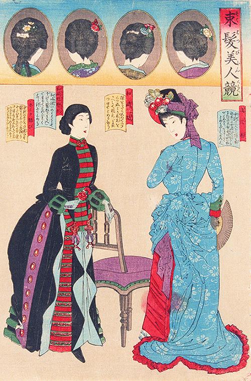日本人と洋服の150年」展、文化学園服飾博物館で開催 , 明治初期