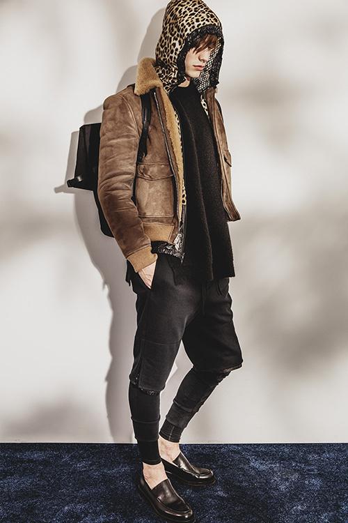 元1Dのゼイン、3.1 フィリップ リムのムートンジャケットを着用