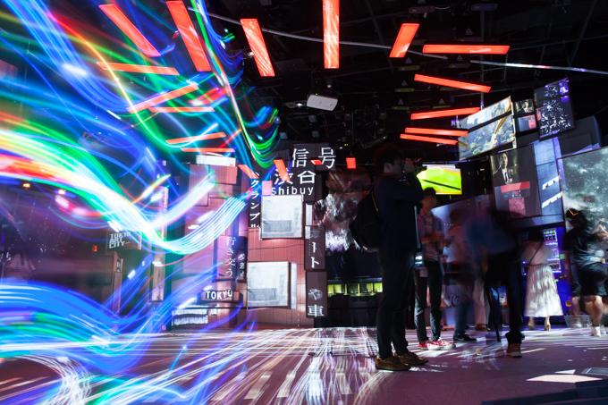 "「TOKYO ART CITY by NAKED」巨大模型とプロジェクター100台で""東京""を体感 写真1"