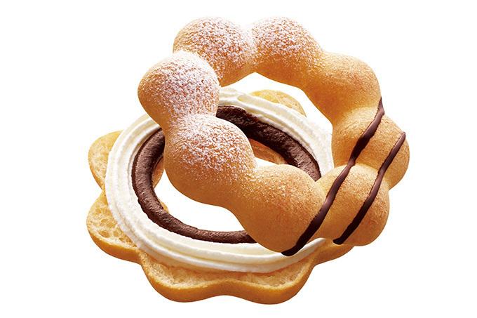 ミスタードーナツ 夢のドーナツ ポン・デ・エンゼルアーモンドチョコクリーム