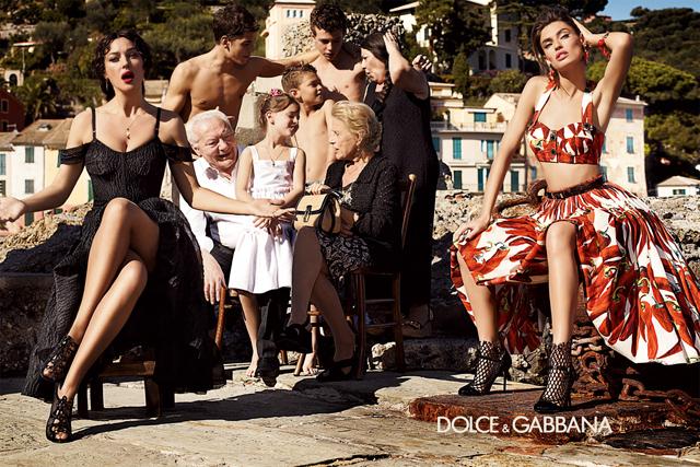 イタリアの至宝、モニカ・ベルッチが登場!ドルチェ&ガッバーナのイタリアン・スピリット溢れる2012年春夏の写真2