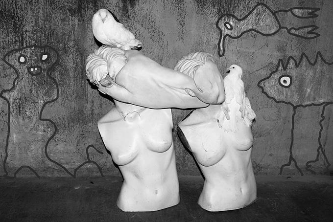 ディーゼル アート ギャラリーで 個展「NO JOKE」