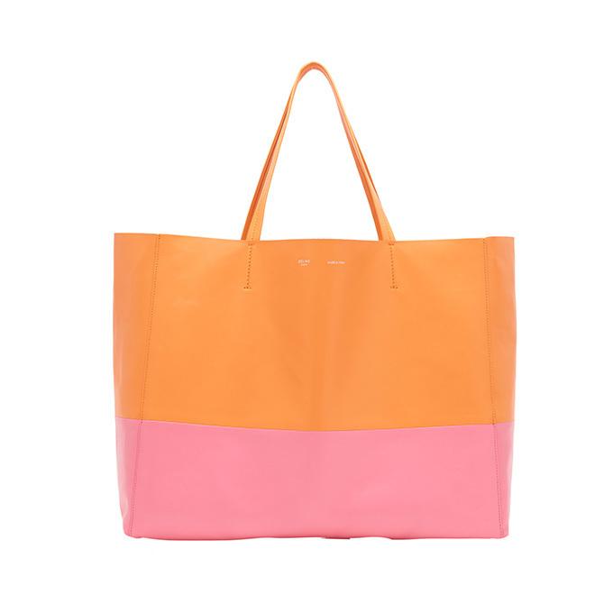 official photos 67bf0 8d0e9 セリーヌのトートバッグ「カバ」から日本限定色、オレンジ ...