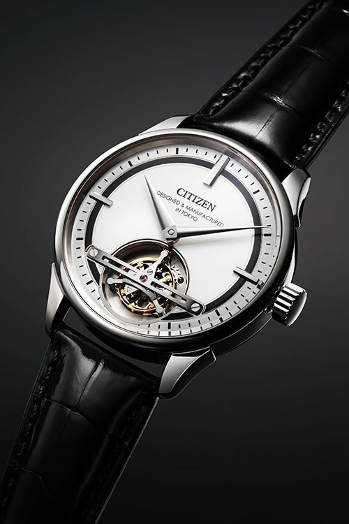 b09e89239b シチズン、初のトゥールビヨンを搭載した機械式腕時計を発表 画像1 ...