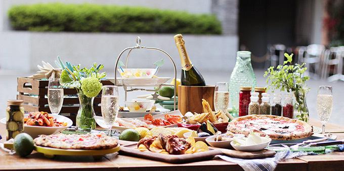 「イタリアンビアガーデン」が伊勢丹新宿店にオープン