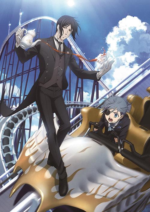 アニメ「黒執事」の屋内アトラクションが富士急ハイランドに登場 -劇中シーンを再現した部屋や限定グッズ