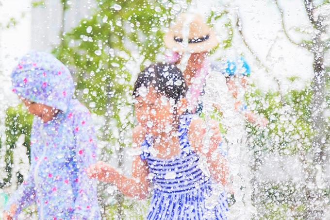 無料スプラッシュ祭「品川ウォーターテラス」