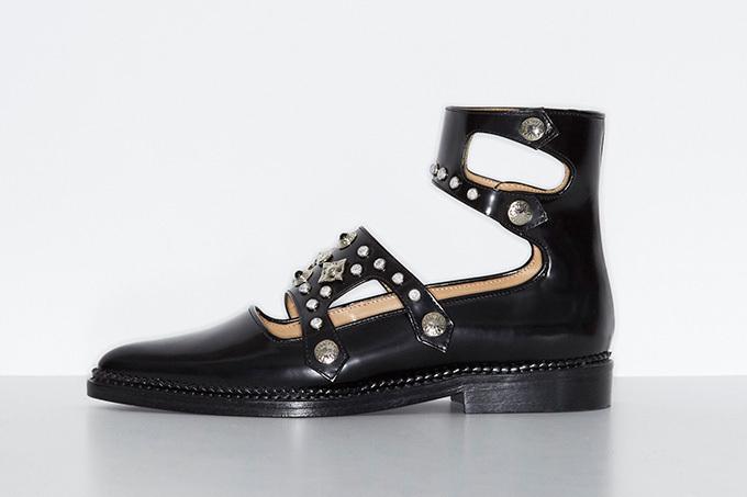 Double belt shoes 65,000円 サイズ:35,35.5,36.36.5,37,37.5, 38,38.5,39,39.5,40,40.5,41 カラー:ブラック