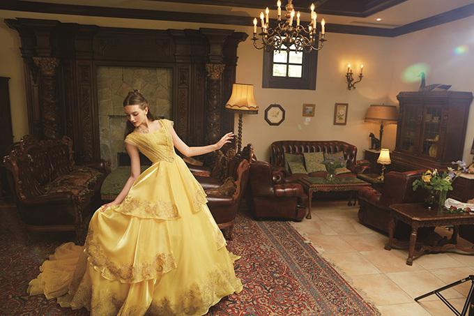 クラウディアからディズニープリンセスのウエディングドレス、シンデレラや白雪姫など6作品をモチーフに 写真4