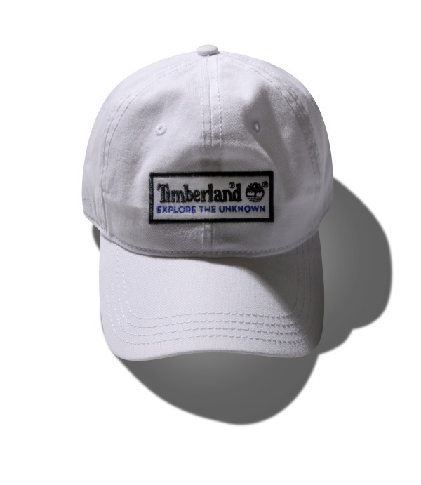6 PANEL EXPLORE THE UNKNOWN CAP ホワイト 6,000円+税