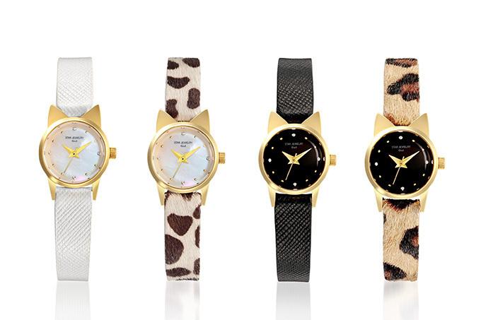 スタージュエリー ガール、猫モチーフの新作時計「キャット ウォッチ」 画像1