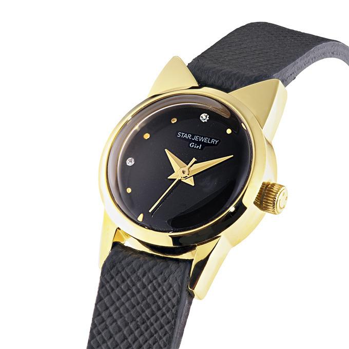 スタージュエリー ガール、猫モチーフの新作時計「キャット ウォッチ」 画像2