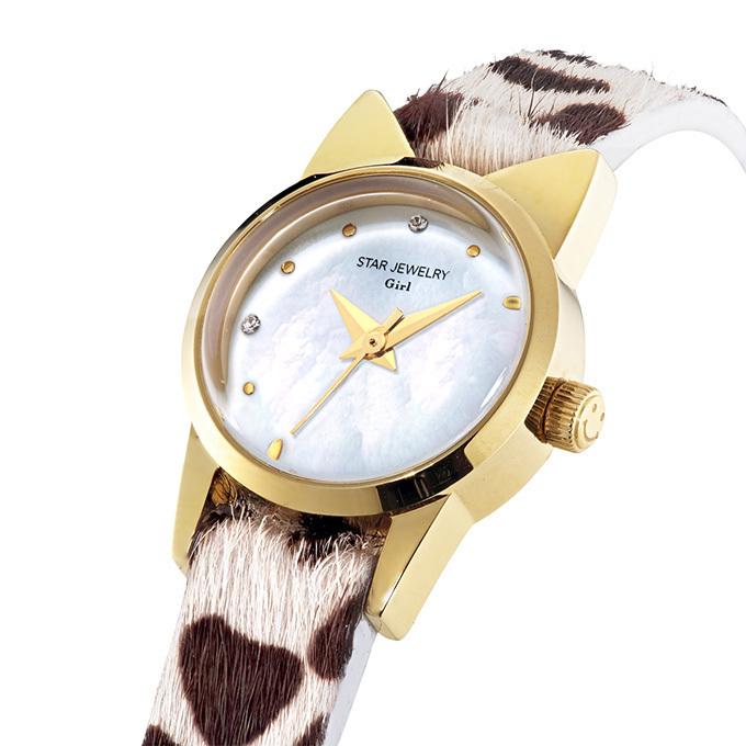 スタージュエリー ガール、猫モチーフの新作時計「キャット ウォッチ」 画像3