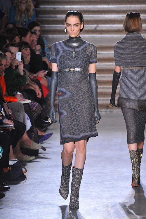 ミッソーニ 2012-13年秋冬コレクション - 都市を生き抜く女性の力強さをスタイルに込めて