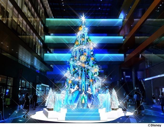 二子玉川ライズ S.C. クリスマスツリー より