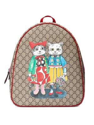 """finest selection bb9e0 0d6b8 グッチ×ヒグチユウコ、シュールな""""猫""""を描いたキッズウェアや ..."""