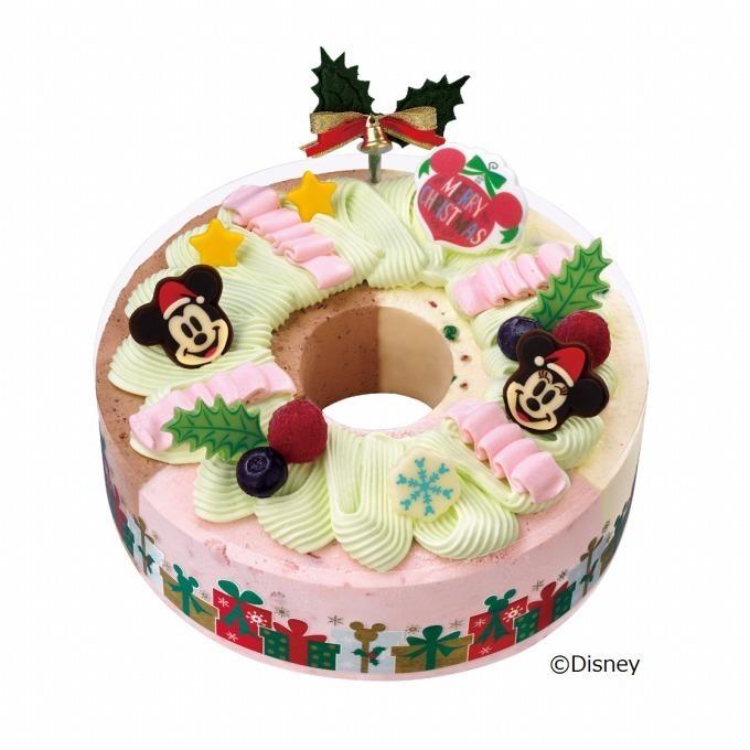 サーティワンのクリスマス限定アイス , ミッキーやスヌーピーの