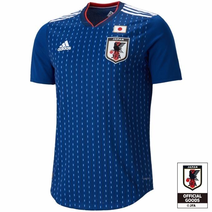 サッカー日本代表ホームオーセンティックユニフォーム半袖 14,000円+税(自店販売価格)