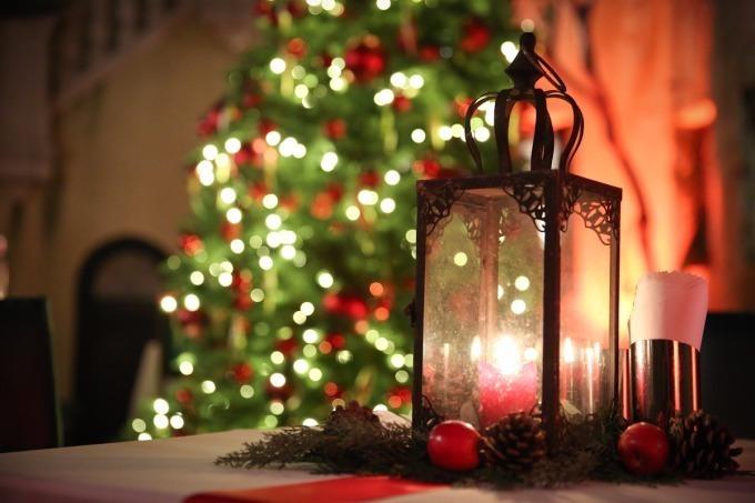 写真1013小笠原伯爵邸で大人のクリスマスパーティカジノやデザート