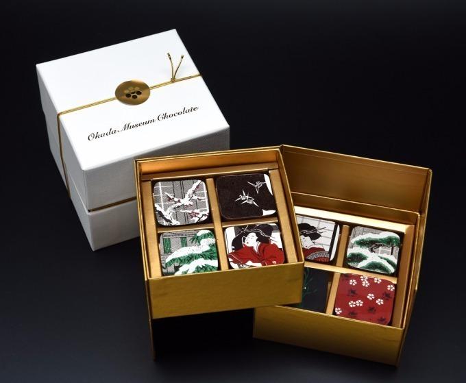 Okada Museum Chocolate『歌麿・深川の雪』 4,800円(税込)